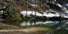 Retenue d'eau claire